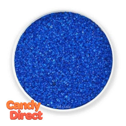 Sanding Sugar Dark Blue - 8lb Bulk