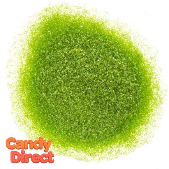 Sanding Sugar Lime Green - 8lb Bulk