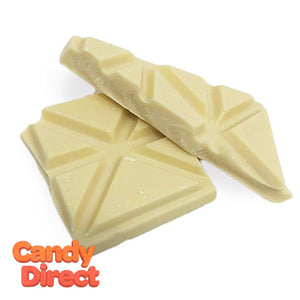 Scored White Chocolate Baking Bars - 7lb Bulk