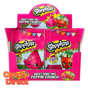 Shopkins Sweet Candy Mix Poppin Crunch - 18ct