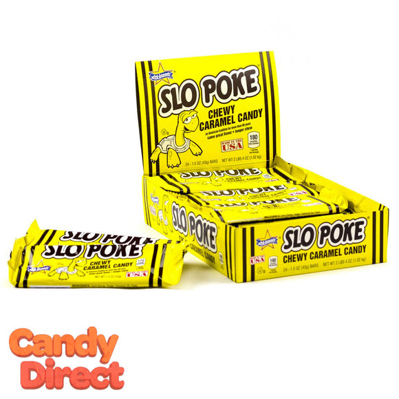 Slo Poke Candy Bars - 24ct