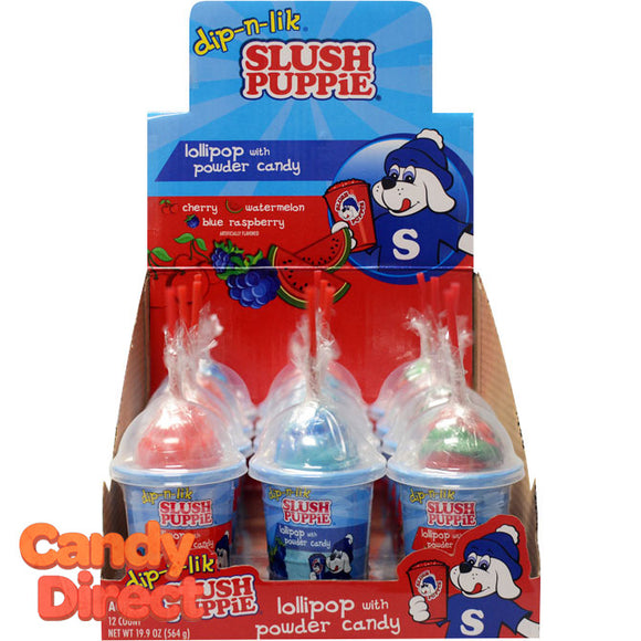 Slush Puppy Dip N LIk Bottles - 12ct
