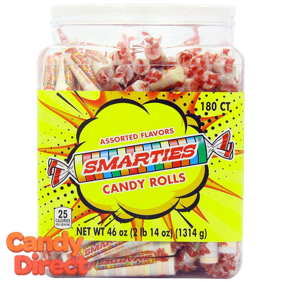 Smarties Candy - 180ct Tub