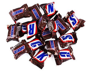 Snickers Bars - Bite-Size 5lb
