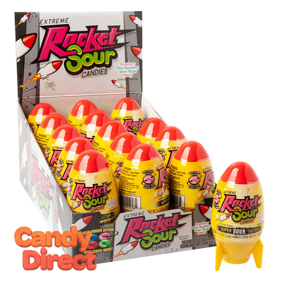 Sour Candies Extreme Rocket 0.96oz - 15ct