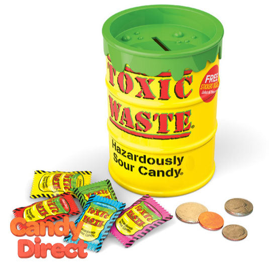 Sour Candy Banks Toxic Waste - 12ct