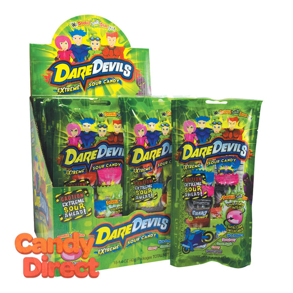 Sour Candy Dare Devils Extreme 1.4oz - 18ct