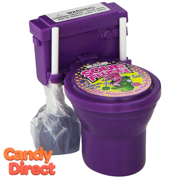 Sour Flush Plunger and Toilet Candy - 12ct
