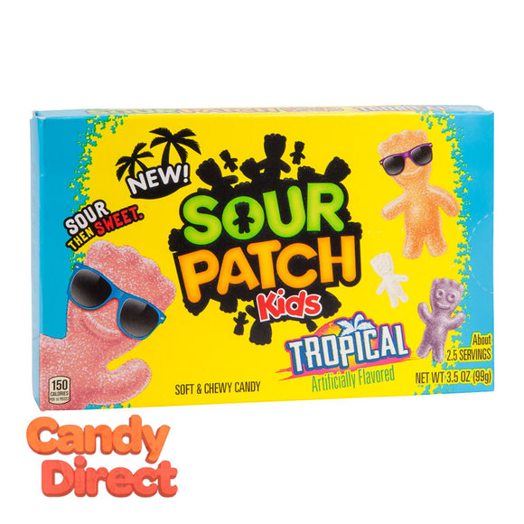 Sour Kids Tropical Patch 3.5oz Theater Box - 12ct