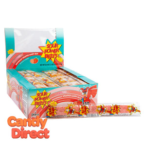 Sour Power Belts Strawberry - Wrapped 150ct Display Box