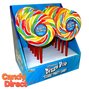 Dizzy Pop Lollipops - 12ct