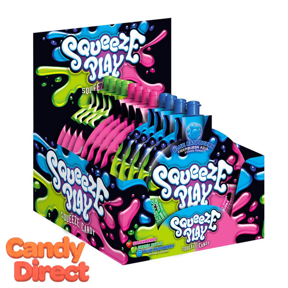 Squeeze Play Liquid Candy - 12ct