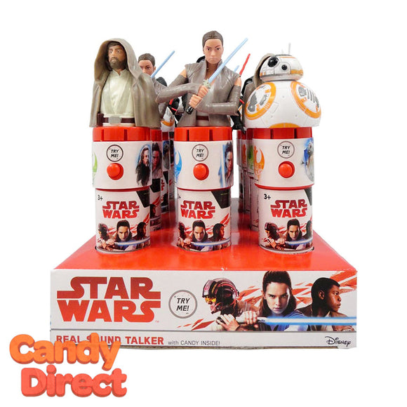 Star Wars Candy Real Sound Talkers - 12ct
