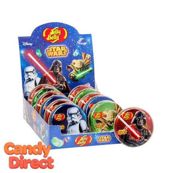 Star Wars Jelly Bean Jelly Belly Tins - 12ct