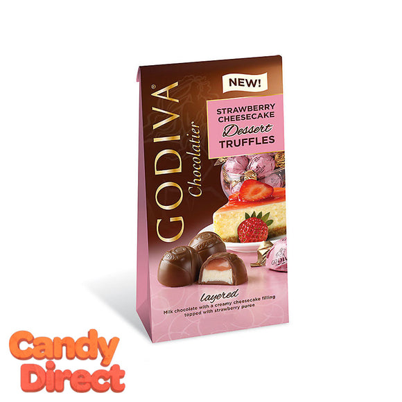 Strawberry Cheesecake Dessert Godiva Truffles Bags - 6ct