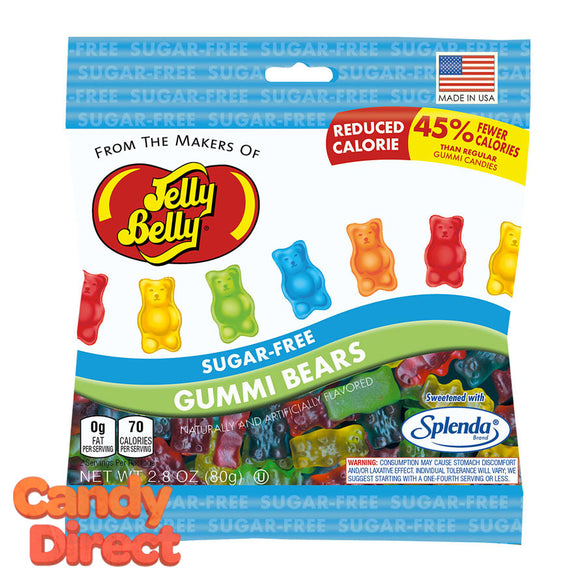 Sugar Free Gummy Bears Jelly Belly - 12ct Bags