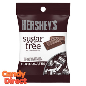 Sugar Free Hershey's Milk Chocolate Bars - 12 Bags