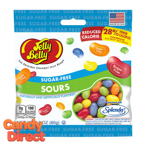 Sugar Free Jelly Belly Sours Jelly Beans Bags - 12ct