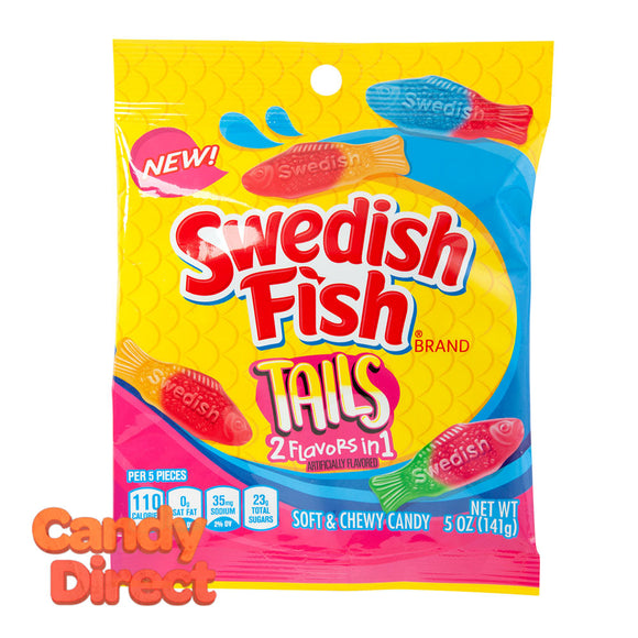 Swedish Tails Fish 5oz Peg Bag - 12ct
