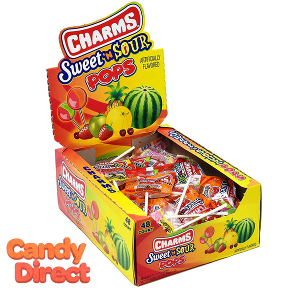 Sweet & Sour Pops from Charms - 48ct