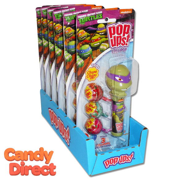 Teanage Mutant Ninja Turtles Lolli Pop-Ups Toys - 6ct