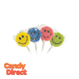 Teeny Smiley Face Pops - 192ct