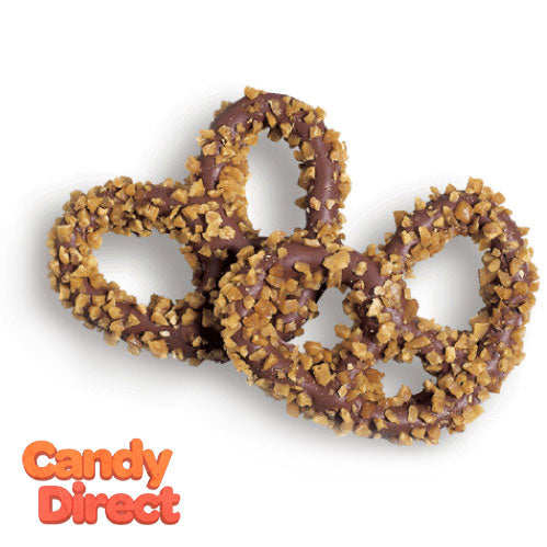 Toffee Covered Pretzels - 6lb