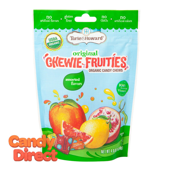 Torie & Howard Chewie Fruities Assorted 4oz Pouch - 6ct