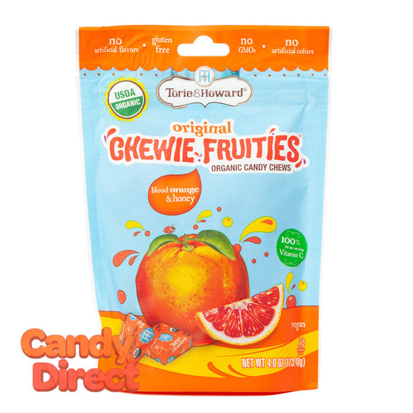 Torie & Howard Chewie Fruities Blood Orange Honey 4oz Pouch - 6ct