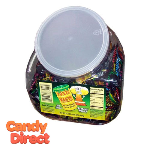 Toxic Waste Candy - 240ct Bulk Tub