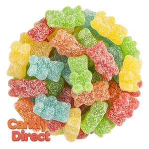 Toxic Waste Gummy Bears Sour And Chewy - 2.2lbs