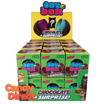 Toy Box Chocolate Suprise Balls - 24ct