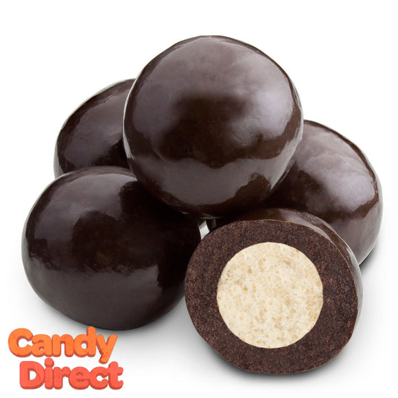 Triple-Dipped Dark Chocolate Malt Balls - 10lb