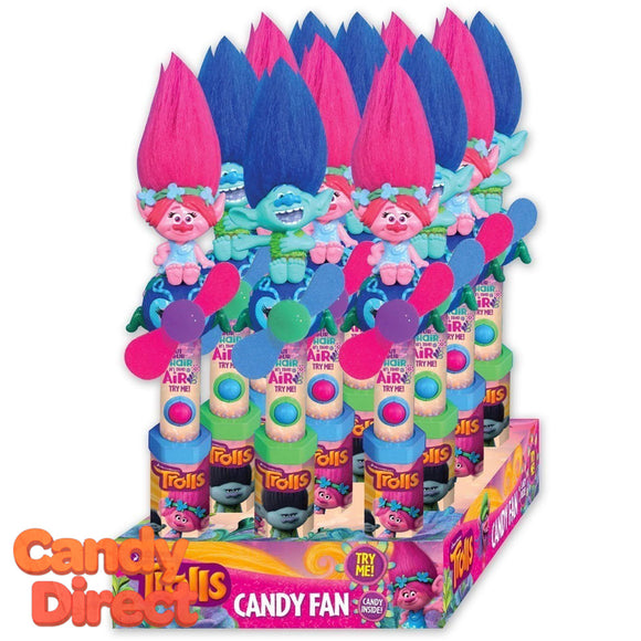Trolls Movie Candy Fans - 12ct