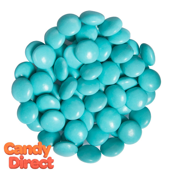 Turquoise Chocolate Gems Candy - 15lb