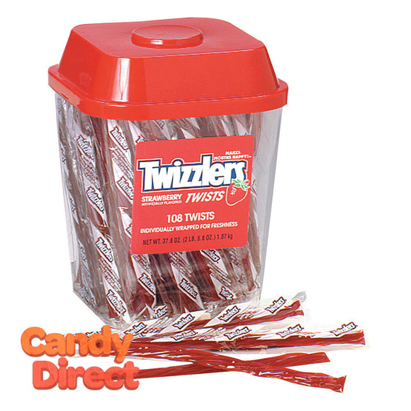 Twizzlers Licorice Wrapped - 105ct