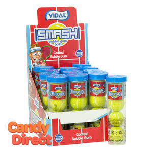 Vidal Gumballs Tennis Balls 4 Pc 1.4oz Tube - 12ct