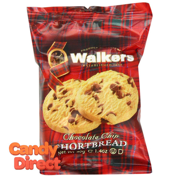 Walkers Chip Chocolate Shortbread Twin Pack 1.4oz - 20ct