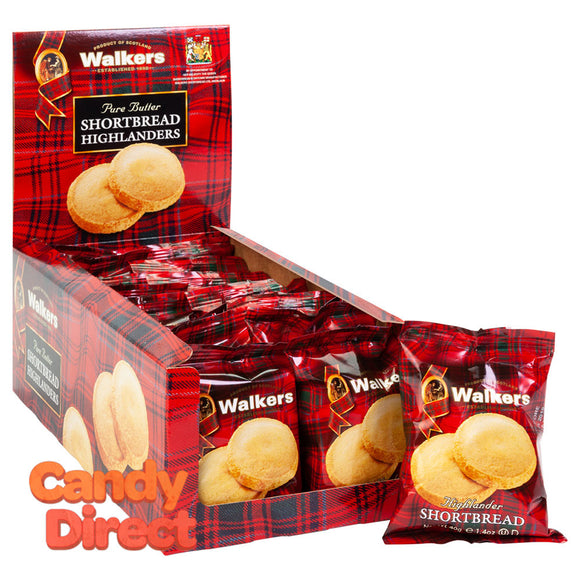 Walkers Highlander Cookies Twin Pack Shortbread 1.4oz - 18ct