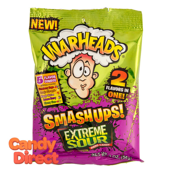 Warheads Smashups Candy 2oz Bag - 12ct