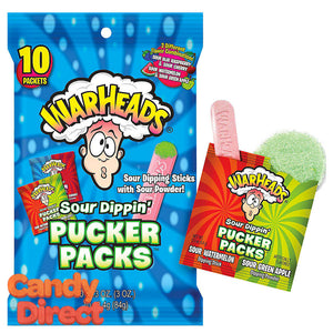 Warheads Pucker Packs - 12ct