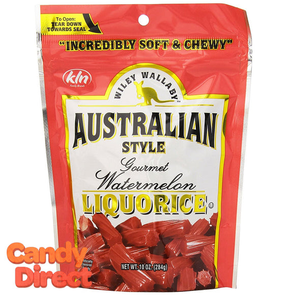 Watermelon Wiley Wallaby Liquorice - 10ct