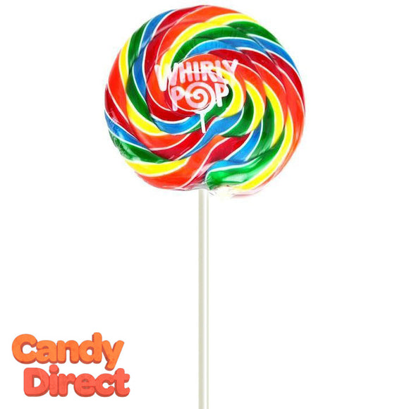 Whirly Pops Rainbow 6.5-Inches - 18ct