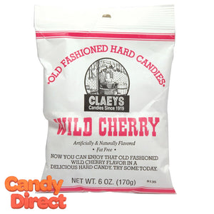 Wild Cherry Claey's Candy Drops - 24ct Bags