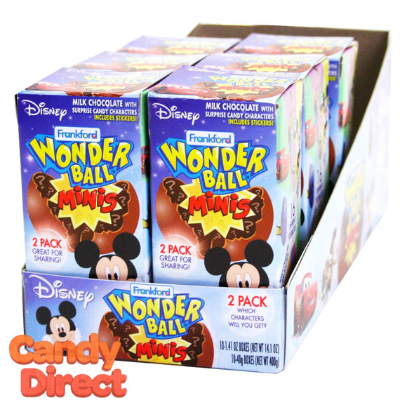 Wonder Ball Minis Disney - 10ct