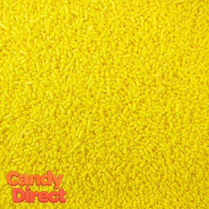 Yellow Sprinkles - 6lb Bulk