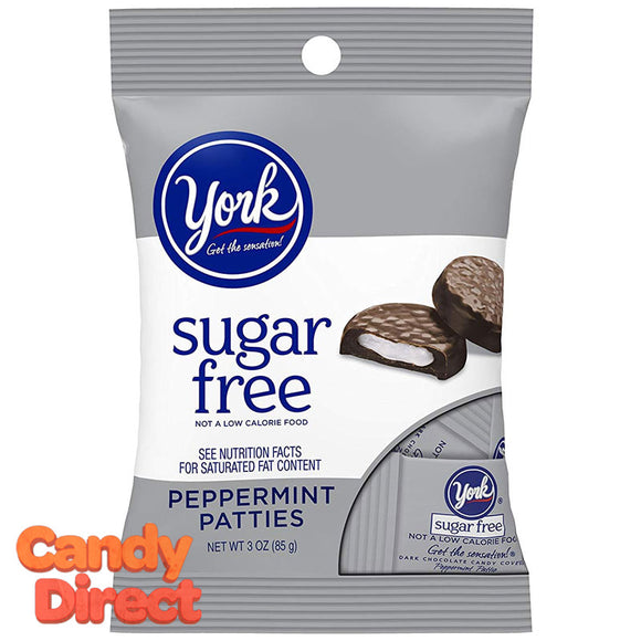 York Peppermint Patties Sugar Free - 12ct Bags