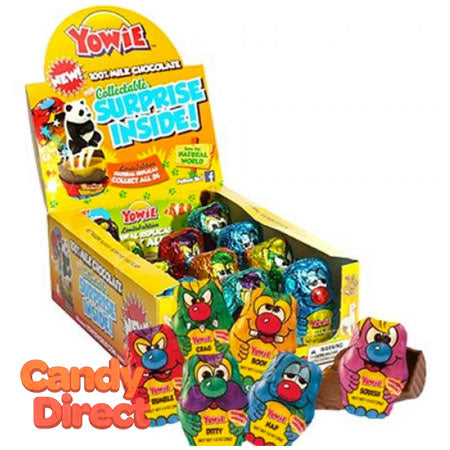 Yowie Chocolate Candy with Toy Inside - 12ct