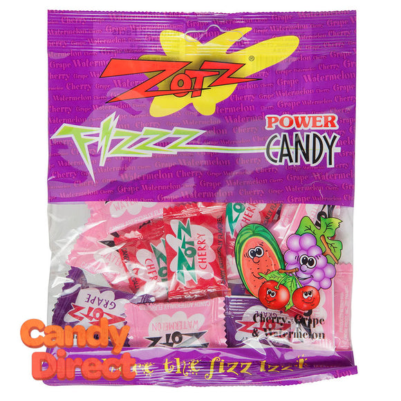 Zotz Assorted Candy 2.8oz Peg Bag - 12ct