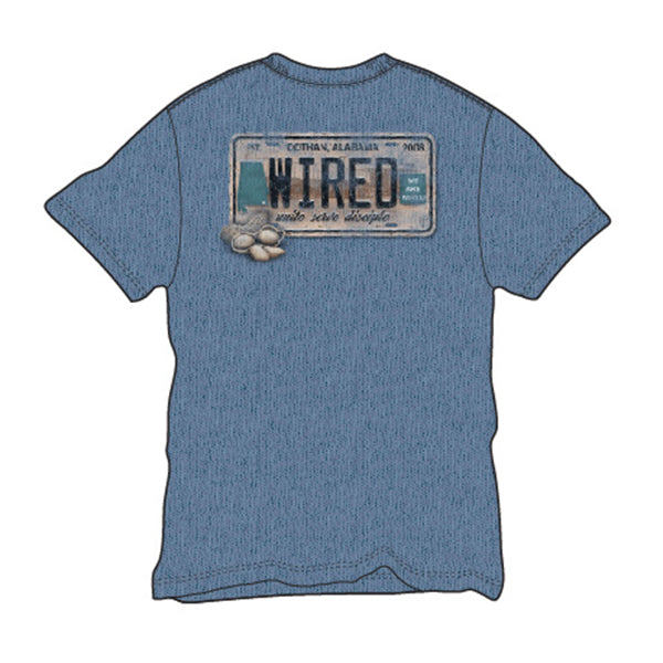 License Plate Tee